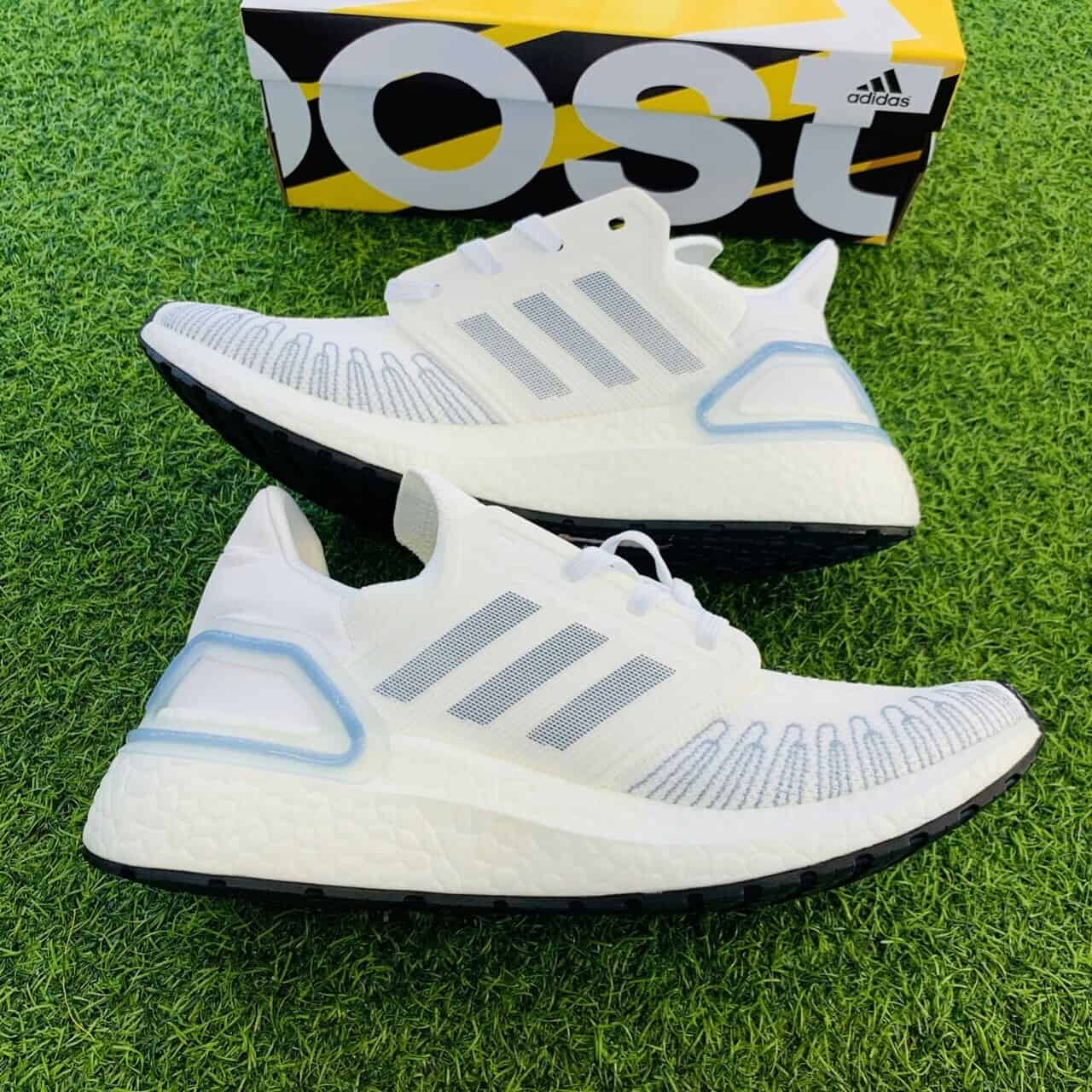 Giày Adidas Ultra Boost 6.0 trắng xanh