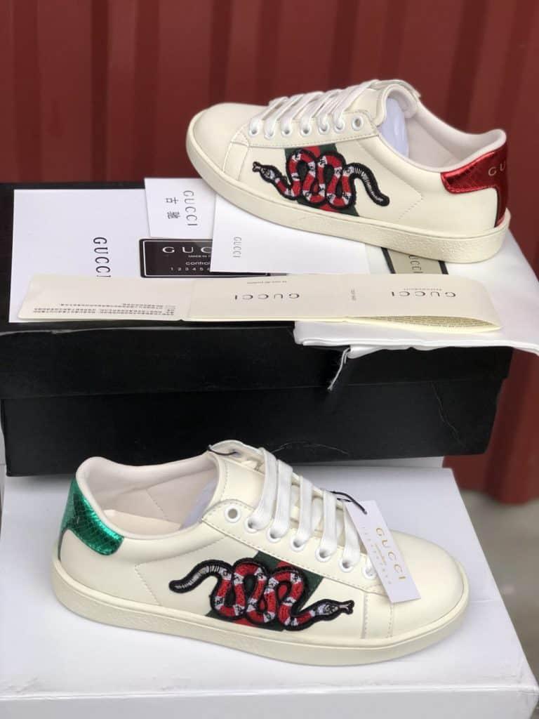 Cận cảnh vẻ đẹp của giày thể thao nữ Gucci