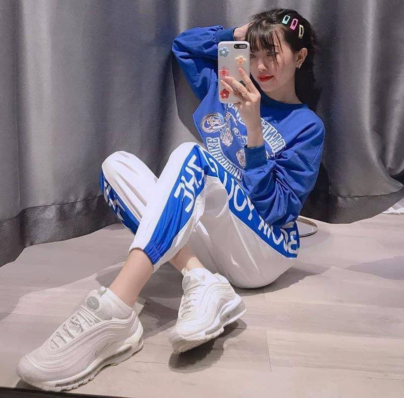 Phối Nike Air Max 97 với outfit thể thao năng động