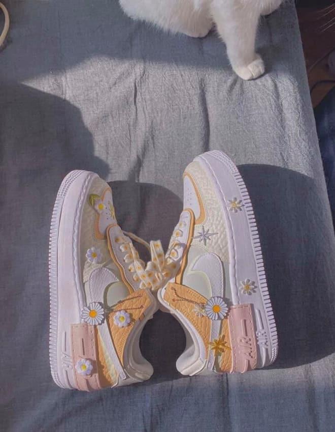 Những ưu điểm của giày nike air force 1 hoa cúc