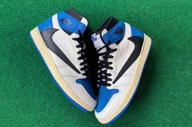 Giày Jordan 1 High Travis Scott Fragment rep 1:1 không hề tầm thường
