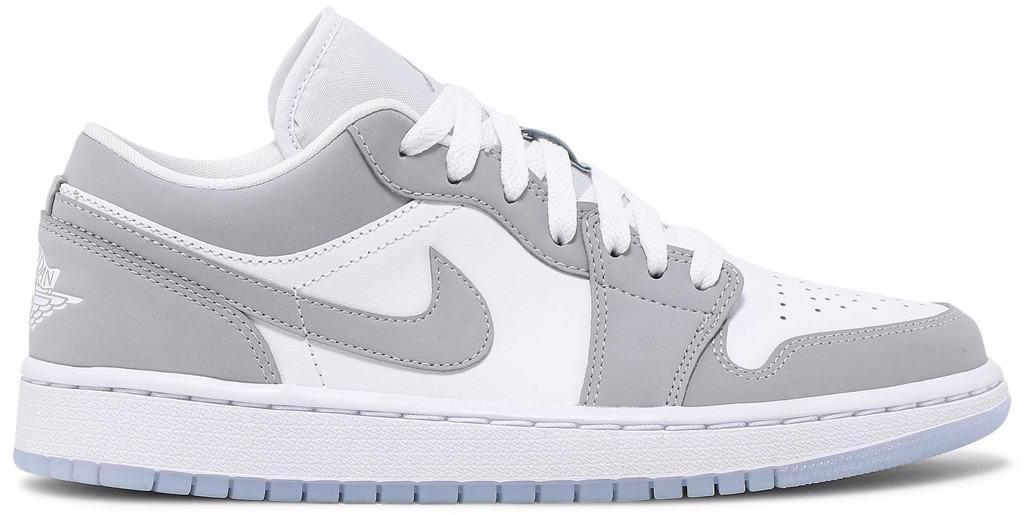 Nike/Jordan 1 Low White Wolf Grey