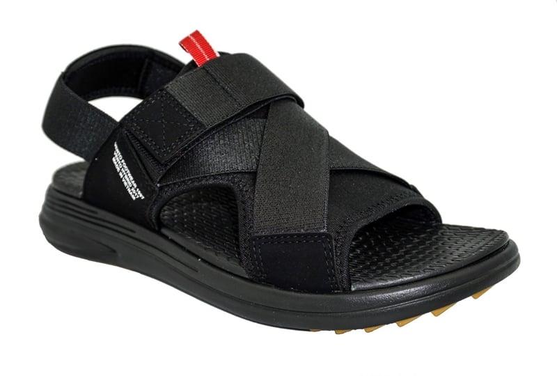 Giày đi học nam cấp 2 màu đen 3 quai đế bệt mang đến sự trẻ trung, năng động