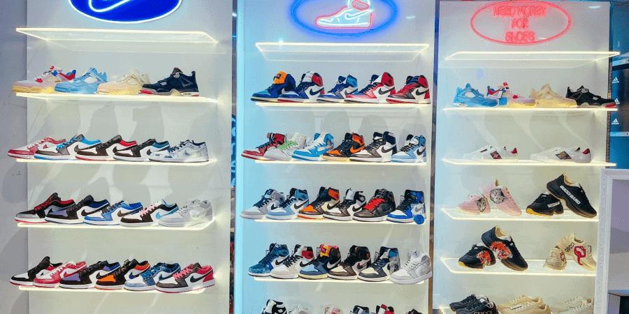 BD Sneaker là 1 trong số các shop giày thể thao cho nữ tại Bình Dương
