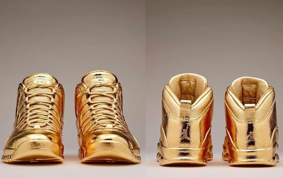 Solid Gold OVO x Air Jordans.- đôi giày đắt nhất thế giới hiện nay
