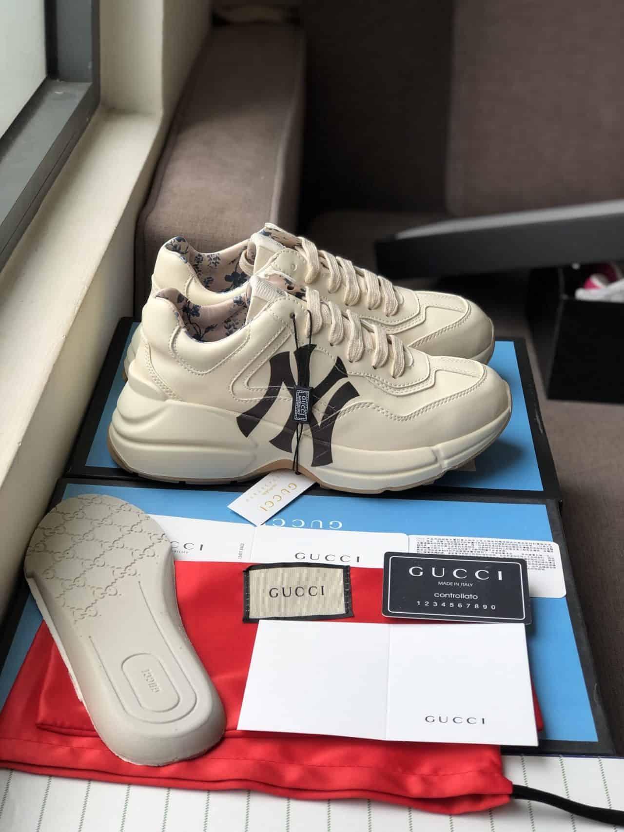 Giày Gucci Rhyton có phong cách thiết kế hiện đại