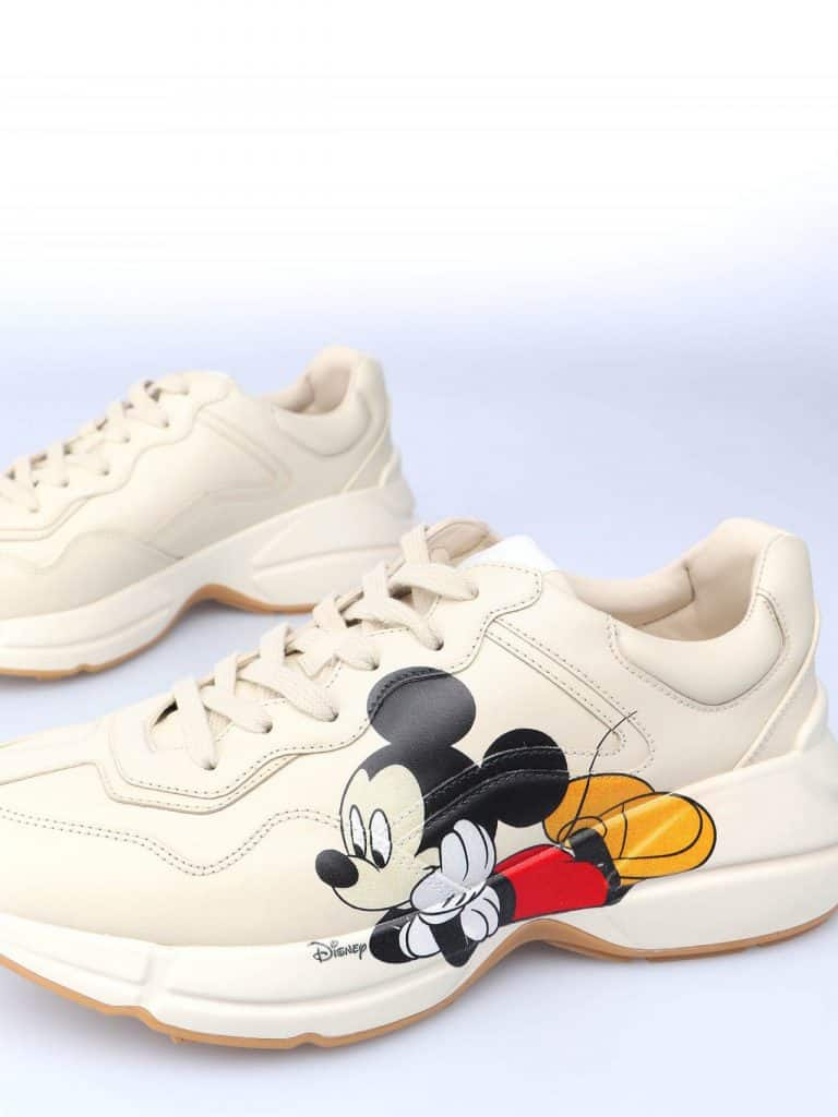 Gucci Disney Rhyton Sneaker mang đến sự trẻ trung, đáng yêu