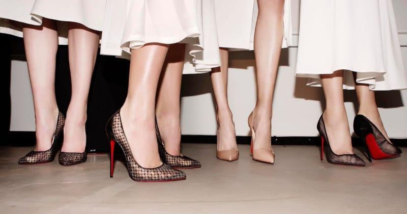 Giày cao gót mũi nhọn là gợi ý hay cho cô nàng chân to