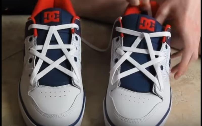 Kiểu thắt dây giày hình ngôi sao đẹp nhất hiện nay