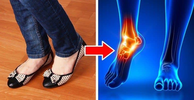 Đi giày quá rộng có thể ảnh hưởng đến sức khỏe