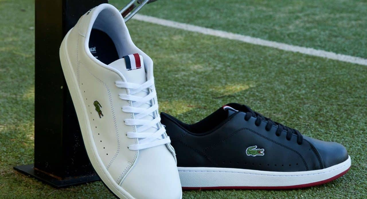 Những đôi giày tối giản mà tinh tế của Lacoste