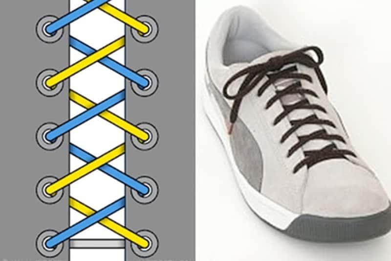 Cách thắt dây giày Nike kiểu vắt chéo mang tới sự chắc chắn tự tin trên từng bước đi