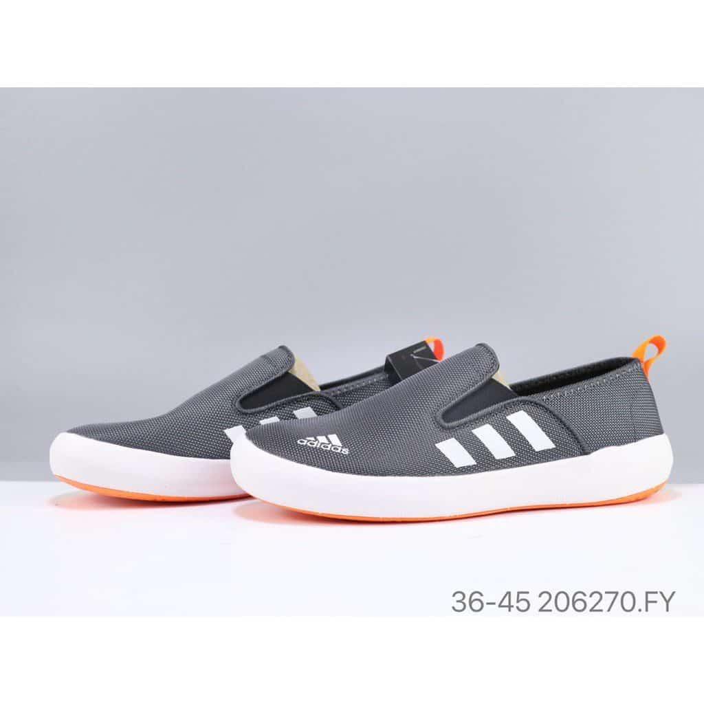 Giày lười nam thể thao adidas năng động, trẻ trung