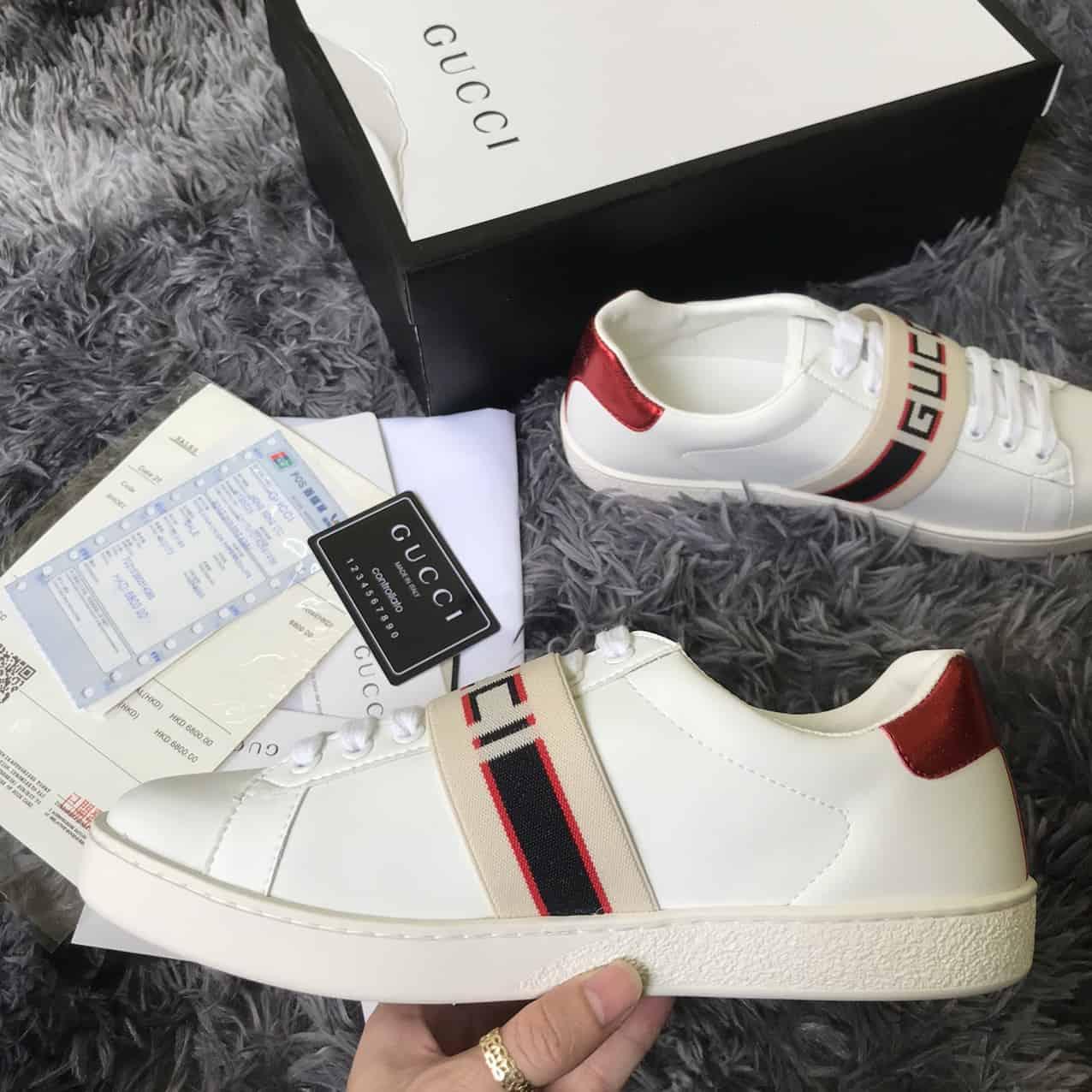 Giày Gucci Ace Striple giúp thương hiệu khẳng định dấu ấn khác biệt