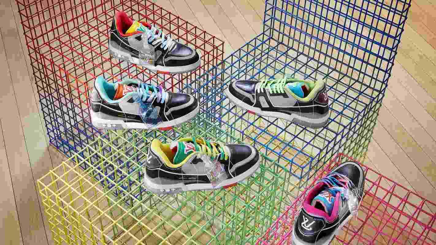 Tín đồ giày thể thao chắc chắn không thể bỏ qua các mẫu Sneaker của thương hiệu Louis Vuitton