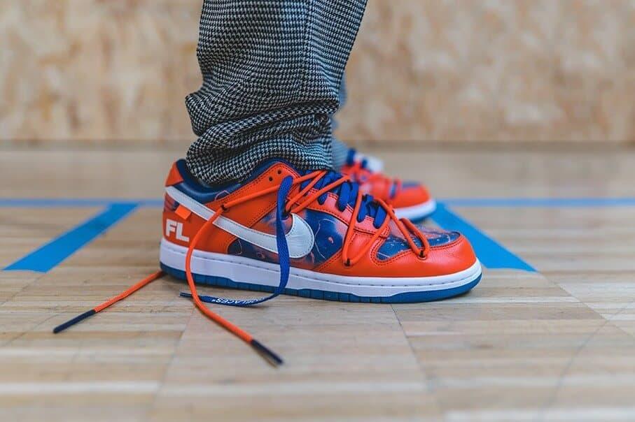 """Giày Nike SB Dunk Low """"Orange"""" có thiết kế hệ thống dây buộc độc đáo"""
