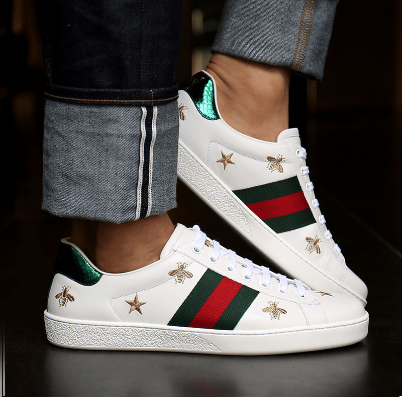 Giày Gucci Ong và Sao thể hiện sự nổi bật trong từng chi tiết thiết kế