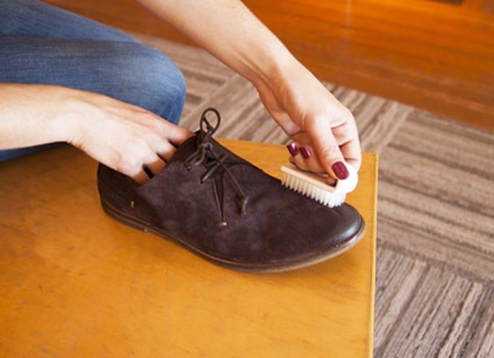 Một số lưu ý sử dụng giày da lộn