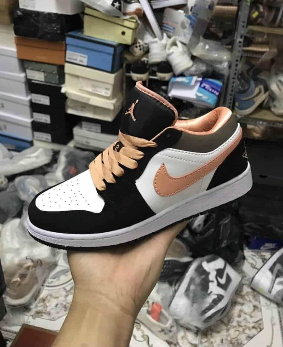 Jordan 1 Low Peach Mocha Rep 1:1 có thiết kế cá tính, hợp thời
