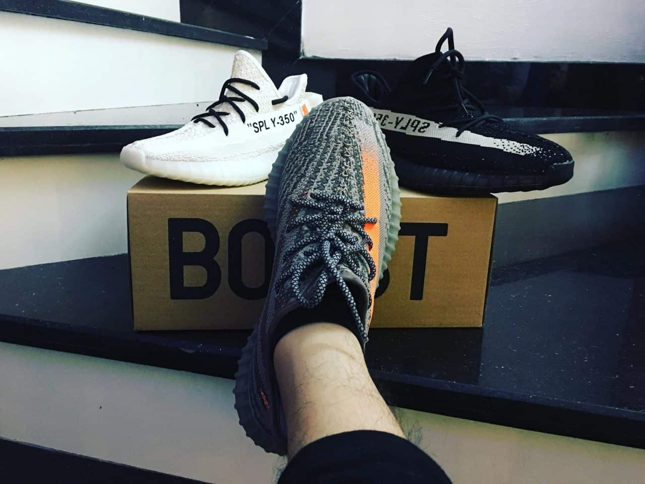 Giày Adidas Yeezy Rep 1:1 giống hàng Authentic đến 95%
