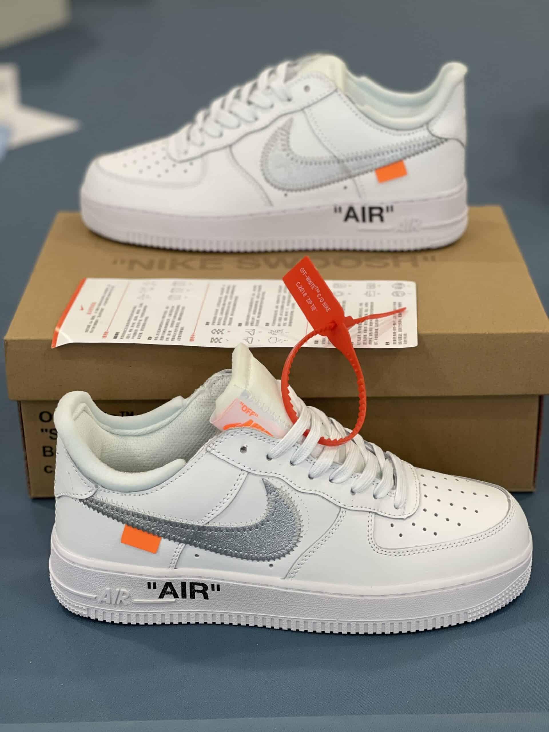 Nike Air Force 1 Tích Bạc Rep 1:1 thiết kế thời thượng