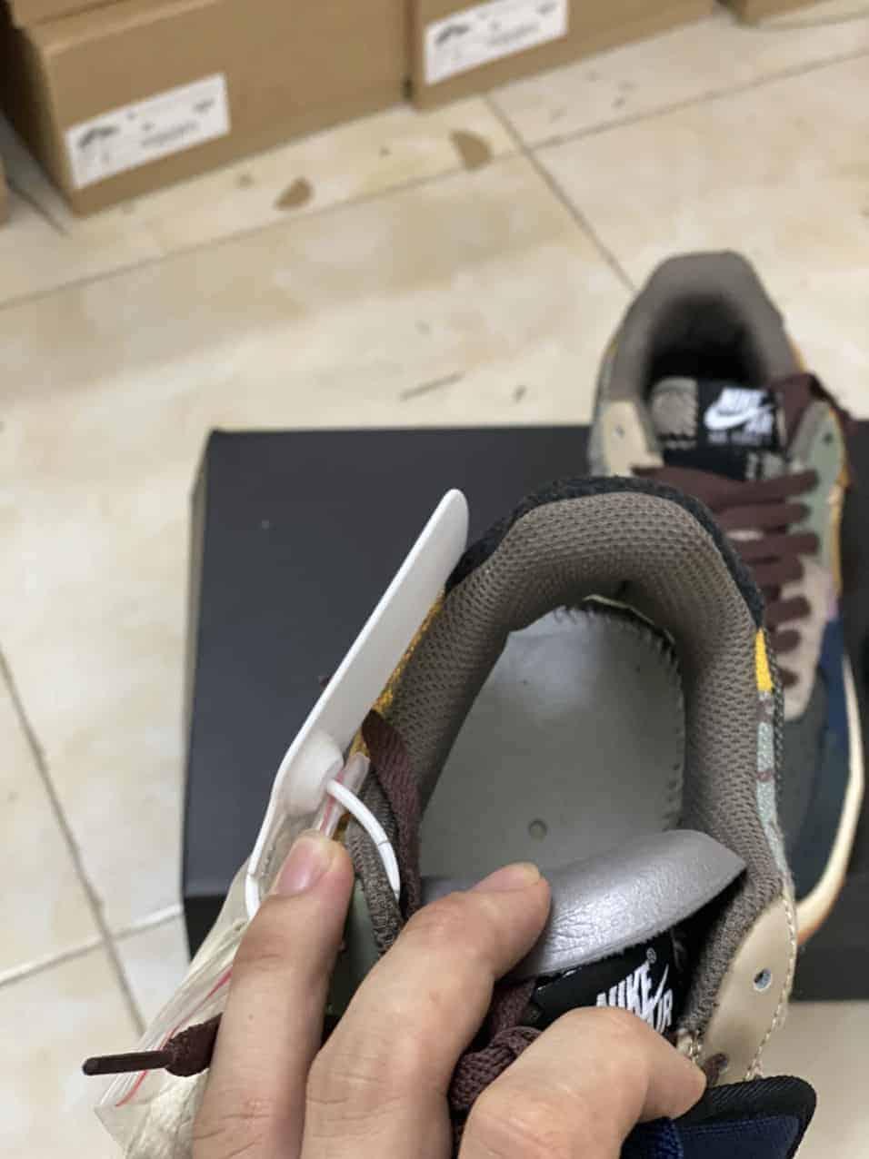 Nike Air Force 1 Travis Scott Cactus Jack Rep 1:1 có giá siêu tốt giúp bạn tiết kiệm đáng kể chi phí