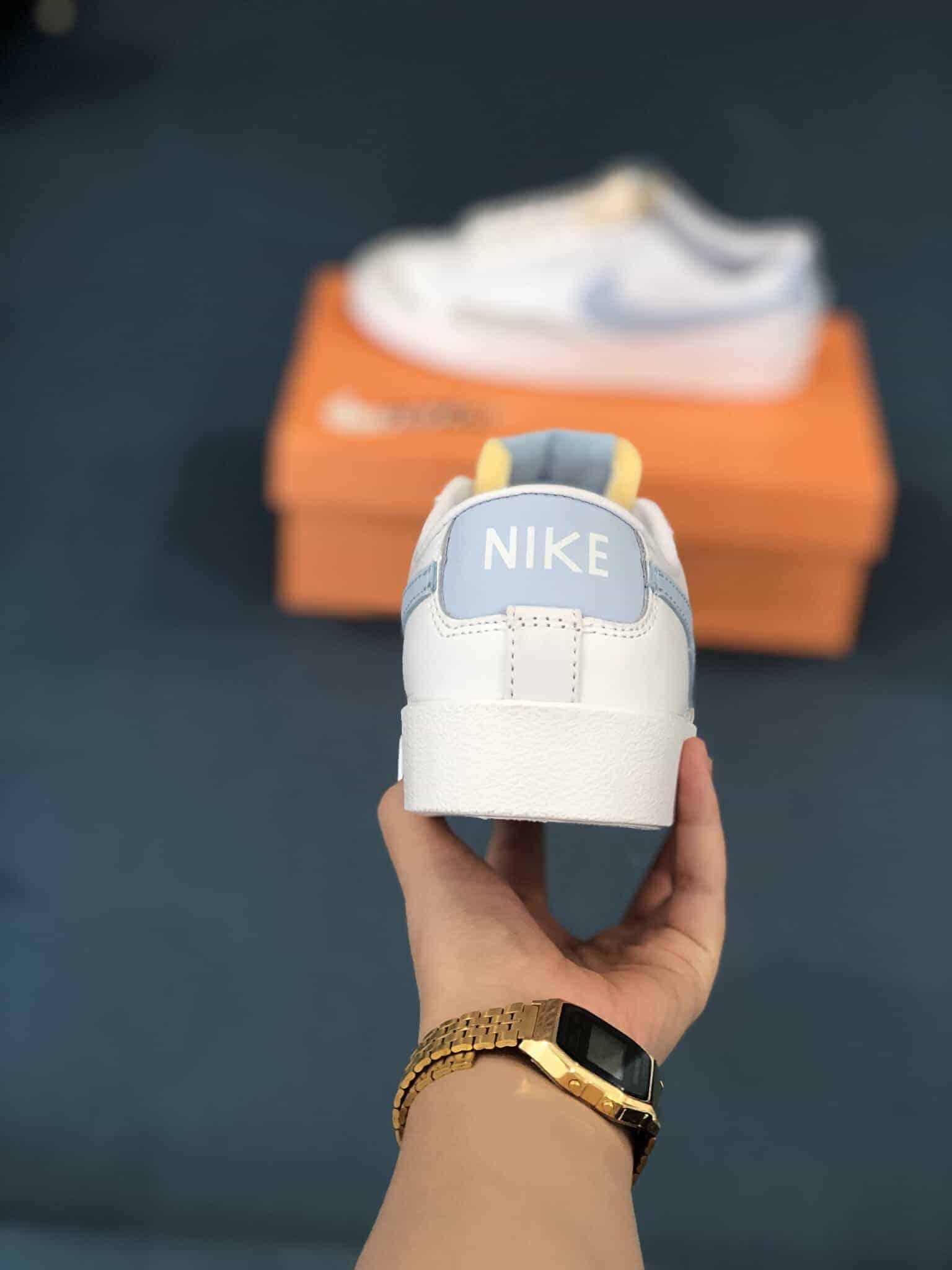 Nike Blazer Low 77 White Ghost Rep 1:1 được nhiều khách hàng lựa chọn nên ưu tiên vì vẻ đẹp tinh tế