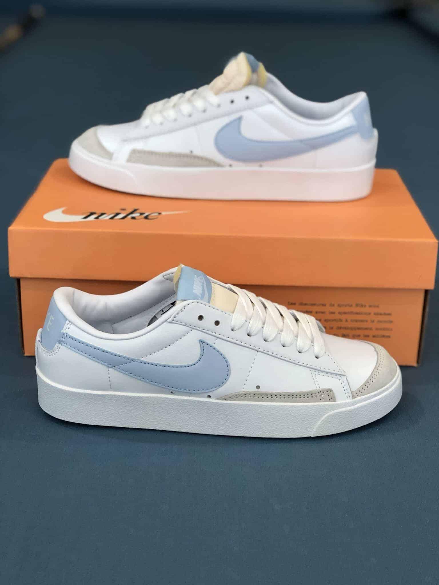 Nike Blazer Low 77 White Ghost Rep 1:1 đáng để ưu tiên vì vẻ đẹp hợp thời
