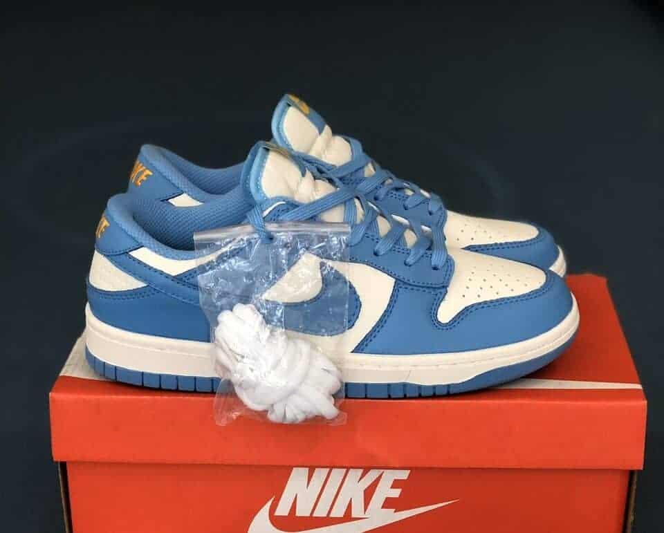 Nike SB Dunk Blue Xanh Rep 1:1 giúp bạn thể hiện cá tính và gu thẩm mĩ tinh tế của mình