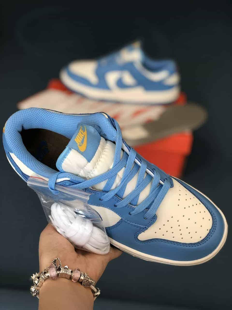 Nike SB Dunk Blue Xanh Rep 1:1 có màu sắc trẻ trung, mang phong cách tươi mới