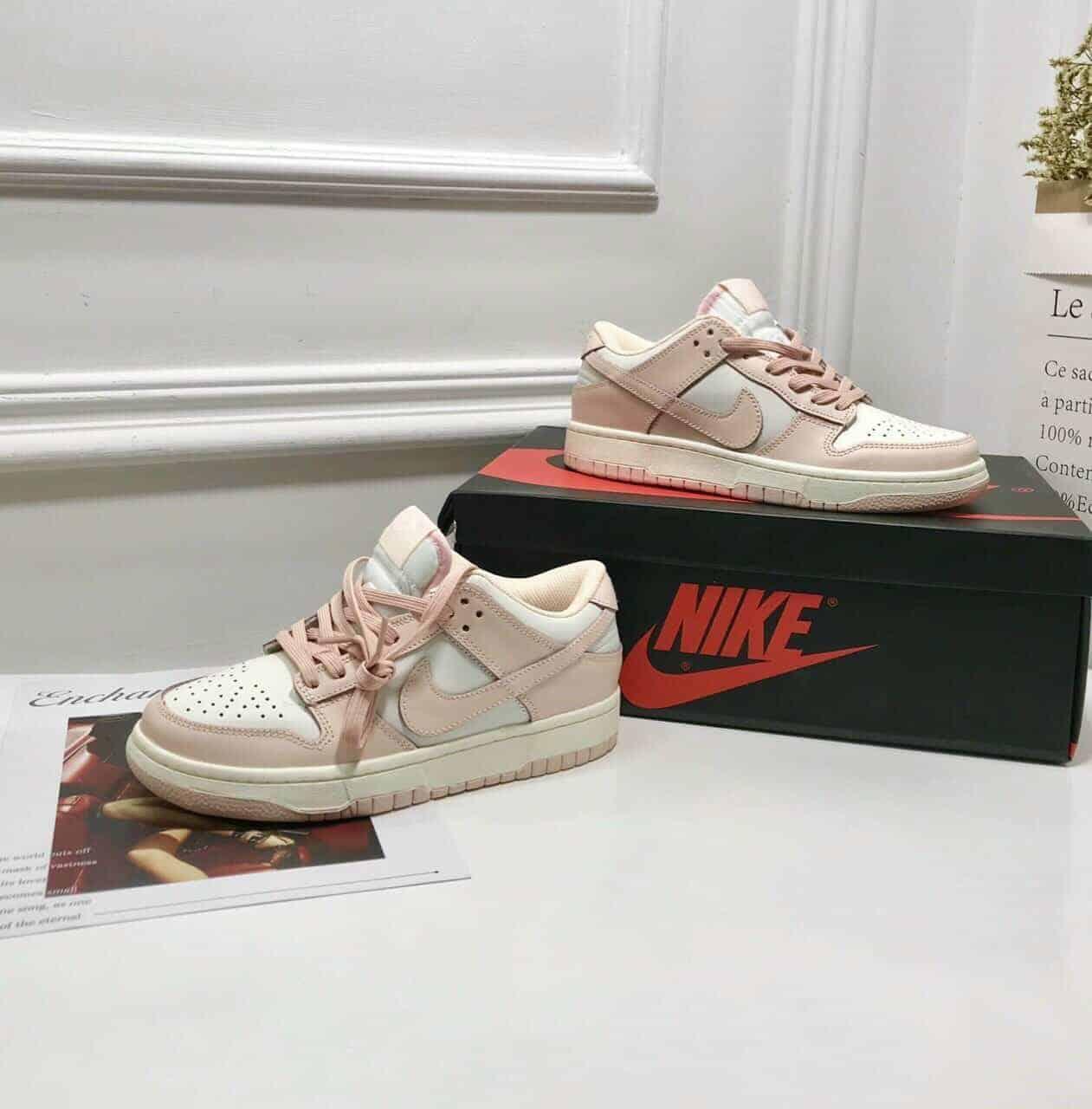 Nike SB Dunk Pink Hồng Rep 1:1 có thiết kế giống Nike chính hãng 99%