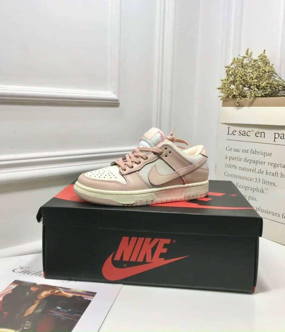 Nike SB Dunk Pink Hồng Rep 1:1 giúp bạn thêm tự tin vì sự mềm mại, thoải mái từ chất liệu